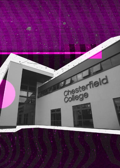 Chesterfield mobile header