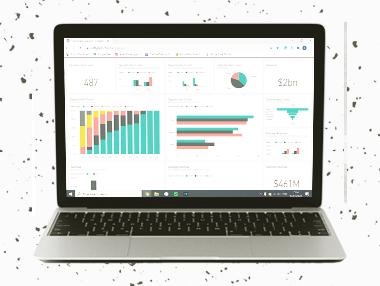 Data visualisation icon