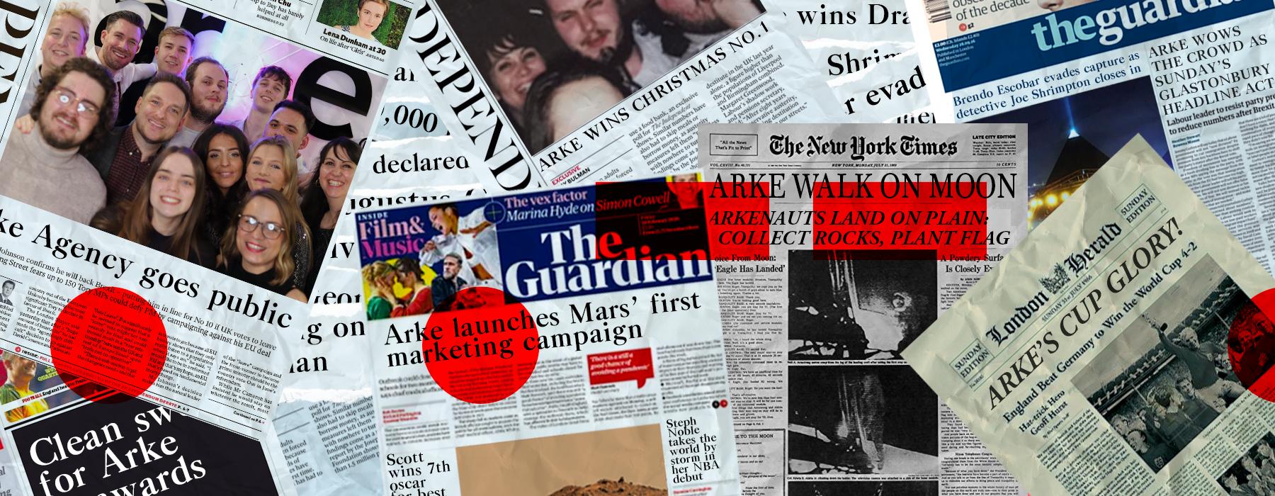 News header desktop