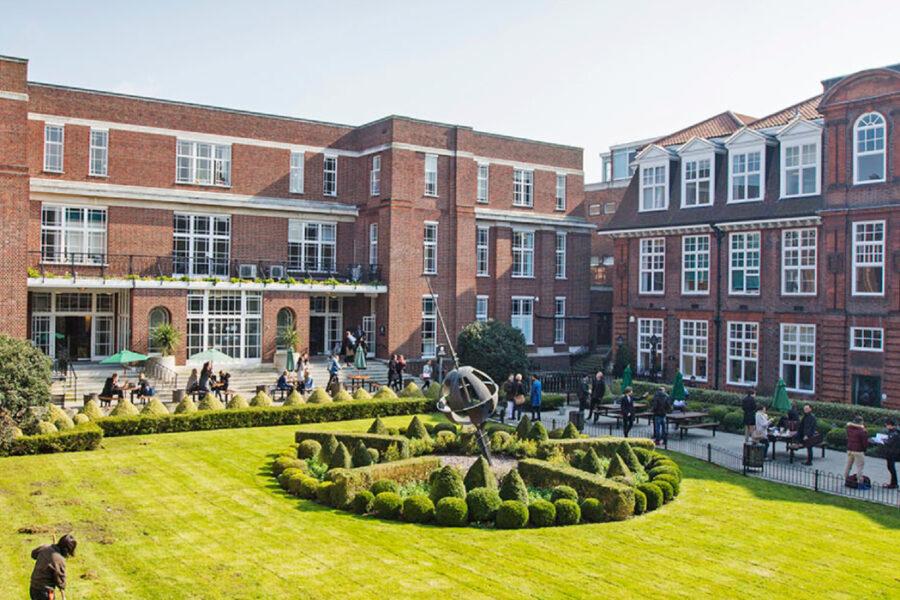 Regent's University London case study header desktop