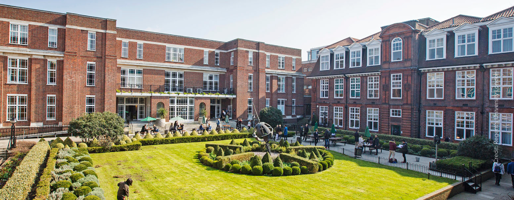 Regent's University London case study header desktop
