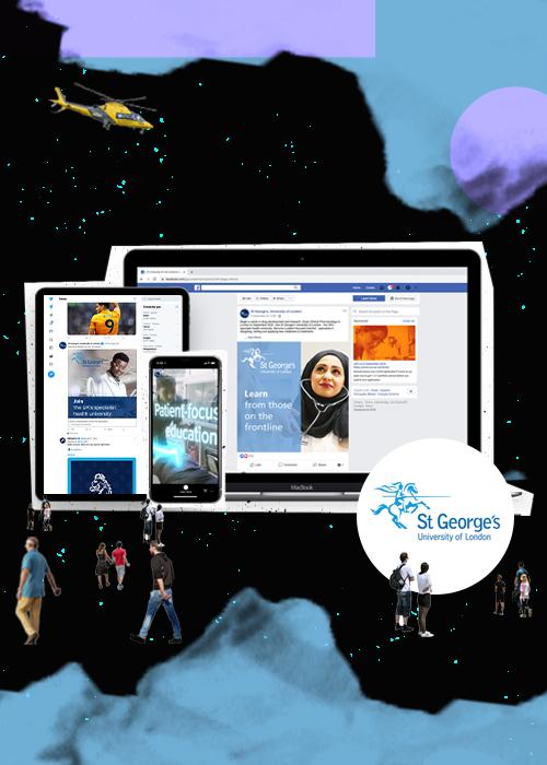 SGUL header mobile